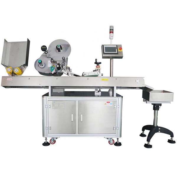 60-500 бр. Автоматична машина за етикетиране на флакон с флакон с минимална икономия