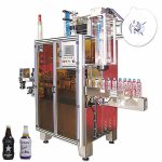 Машина за етикетиране с бутилки за напитки в бутилки, апликатор за етикети с термосвиваеми ръкави