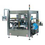 CE машина за етикетиране на ротационни стикери с пълна автоматична бутилка