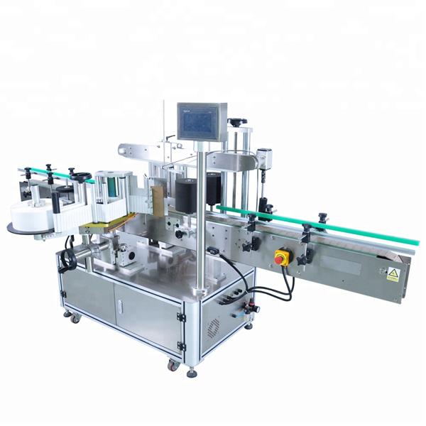 Персонализирана машина за автоматично нанасяне на етикети за кръгла бутилка с препарат