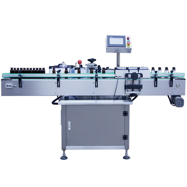 Машина за етикетиране на самозалепващи стикери за стъклена бутилка, машина за етикетиране на стъклени буркани