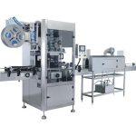 Машина за етикетиране на термоуплътняващи се втулки с тунел за сертифициране ISO 9001