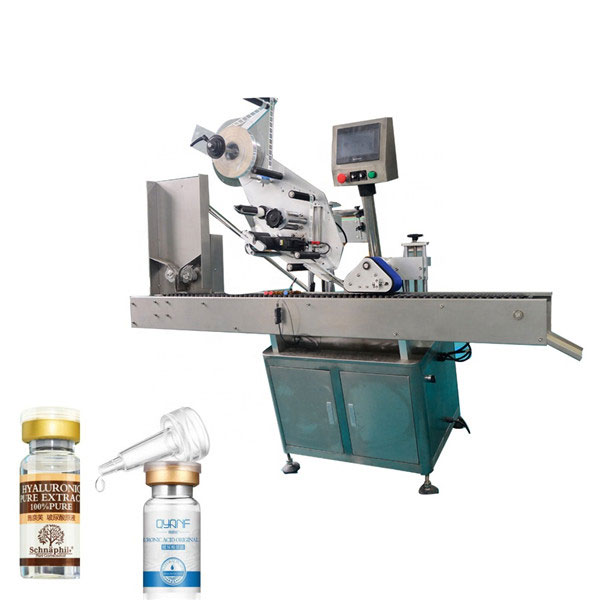 Високоскоростна автоматична машина за етикетиране на горната и долната кутия Sus304 икономична машина