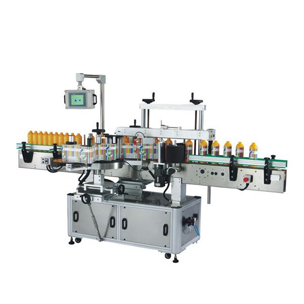Машина за етикетиране на пластмасови бутилки Odm с Plc и сензорен екран