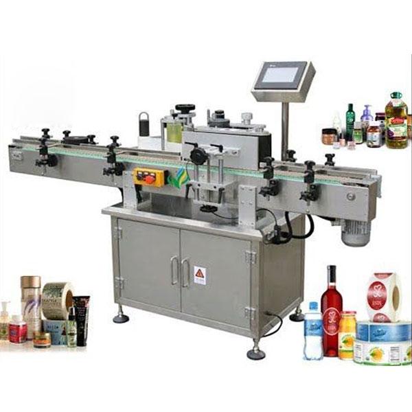 Машини за етикетиране на кръгли бутилки, увийте около апликатора за етикети