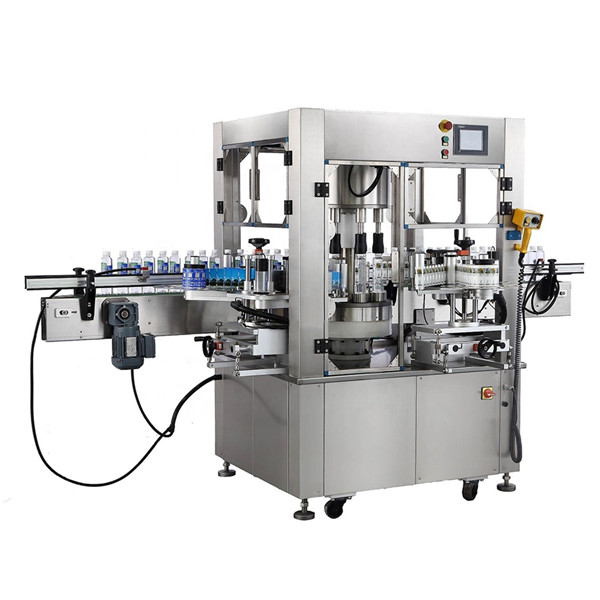 Дебелина на оборудването на машината за етикетиране на кръгла бутилка с въртящ се стикер
