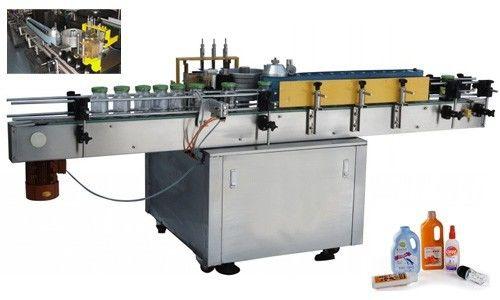 Автоматична машина за нанасяне на етикети със студено лепило за персонализирана кръгла бутилка