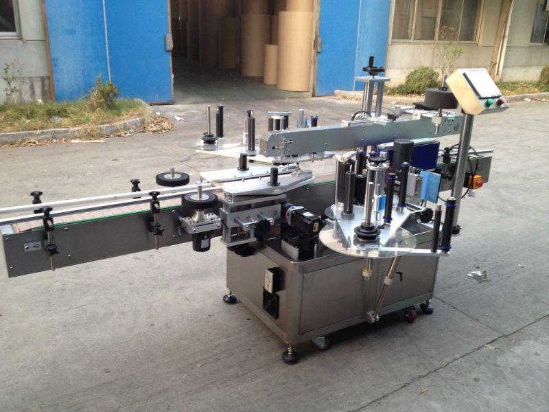 Китай Апликатор за стикери с бутилка под налягане, доставчик на машина за етикетиране с 550 кг