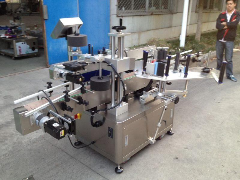 Китай Машина за автоматично нанасяне на стикери за бутилки Opp за високоскоростен доставчик на лепило за горещо топене