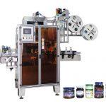 PET Автоматична машина за етикетиране на свиващи се втулки с висока ефективност за тесни места