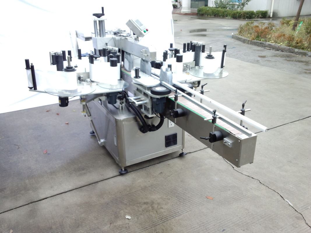 Автоматична машина за етикетиране на двустранни стикери с предна и задна страна