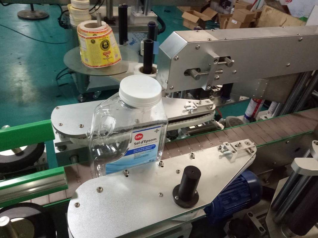 Машина за етикетиране на стикери с квадратни бутилки с две страни за продукти за лична хигиена