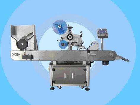 Автоматична машина за етикетиране на флакон Машина за стикери с етикет за лак за козметика