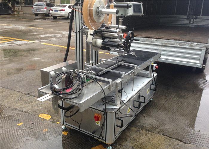 Високоскоростни ролки Топ стикер етикет машина стъпка контрол на двигателя