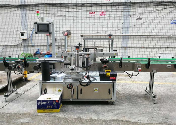 Автоматична двустранна машина за етикетиране на бутилки, лепило за етикети, стикер, шампоан, вино