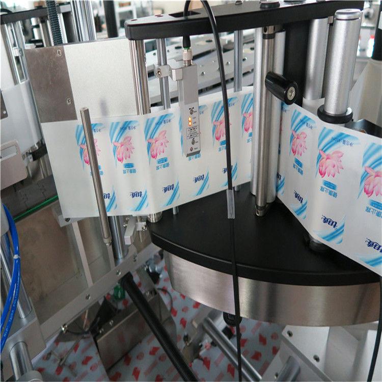 Автоматична машина за етикетиране на стикери с кръгла бутилка с единичен / двустранен шестоъгълник