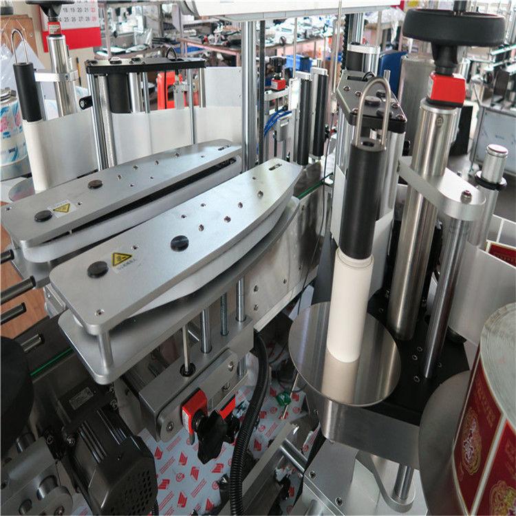 Напълно автоматична машина за етикетиране на самозалепващи се стикери, двустранна