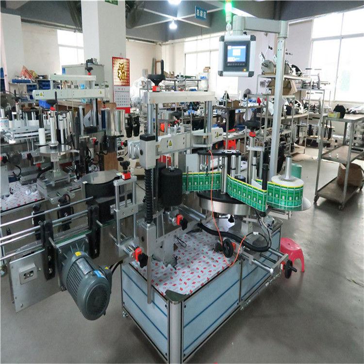 Автоматична машина за етикетиране на квадратни бутилки с етикет за стикери