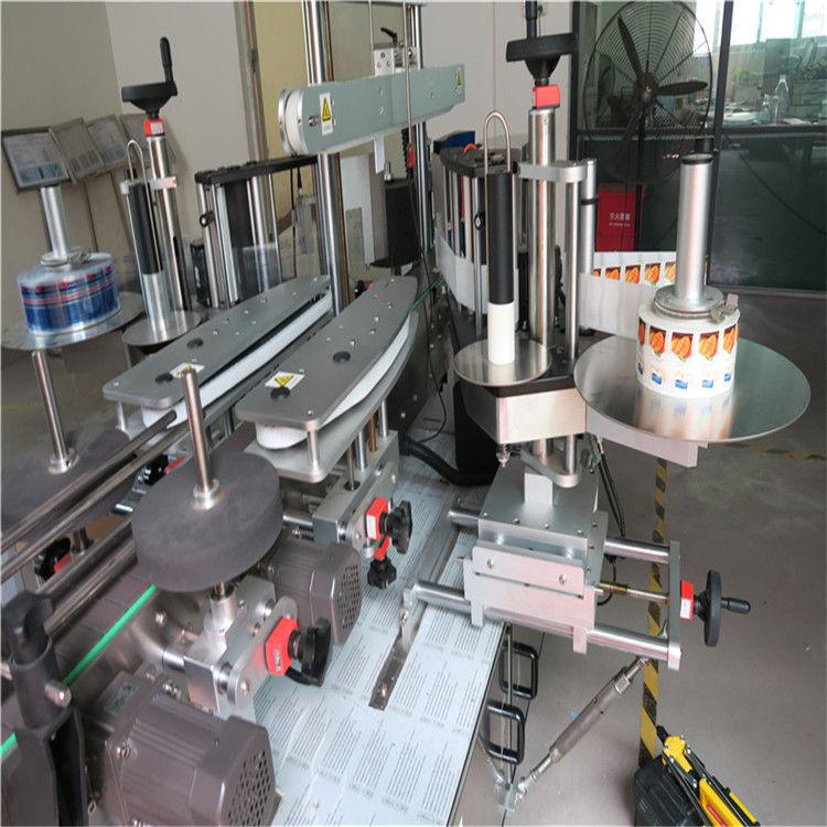 Единична / двустранна машина за апликация на етикети с кръгла бутилка