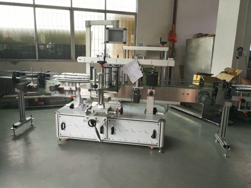 Китай Машина за етикетиране на автоматични стикери за бутилка сок / вино, доставчик на автоматична машина за етикетиране