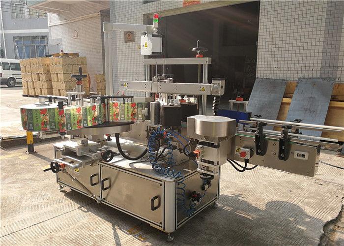 Китай Машина за етикетиране на плоски бутилки 3048mm x 1700mm x 1600mm Външен доставчик на оборудване