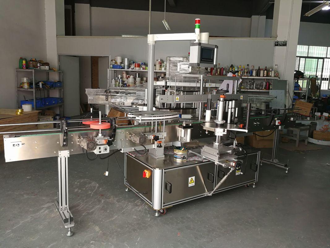 Високо прецизна многофункционална машина за етикетиране на плоски бутилки с електрическо задвижване