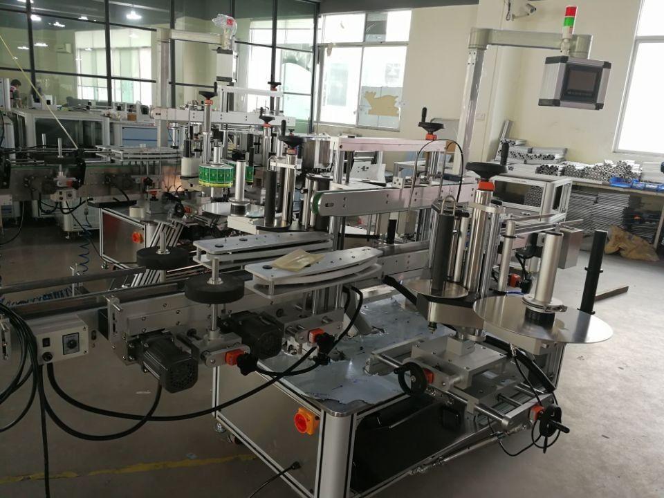 Високоскоростна система за етикетиране с двойни ъглови уплътнения за фармацевтични кашони