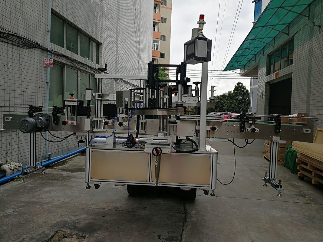 Автоматичен двустранен стикер за етикетиране на машина за етикетиране на машина за пластмасови буркани
