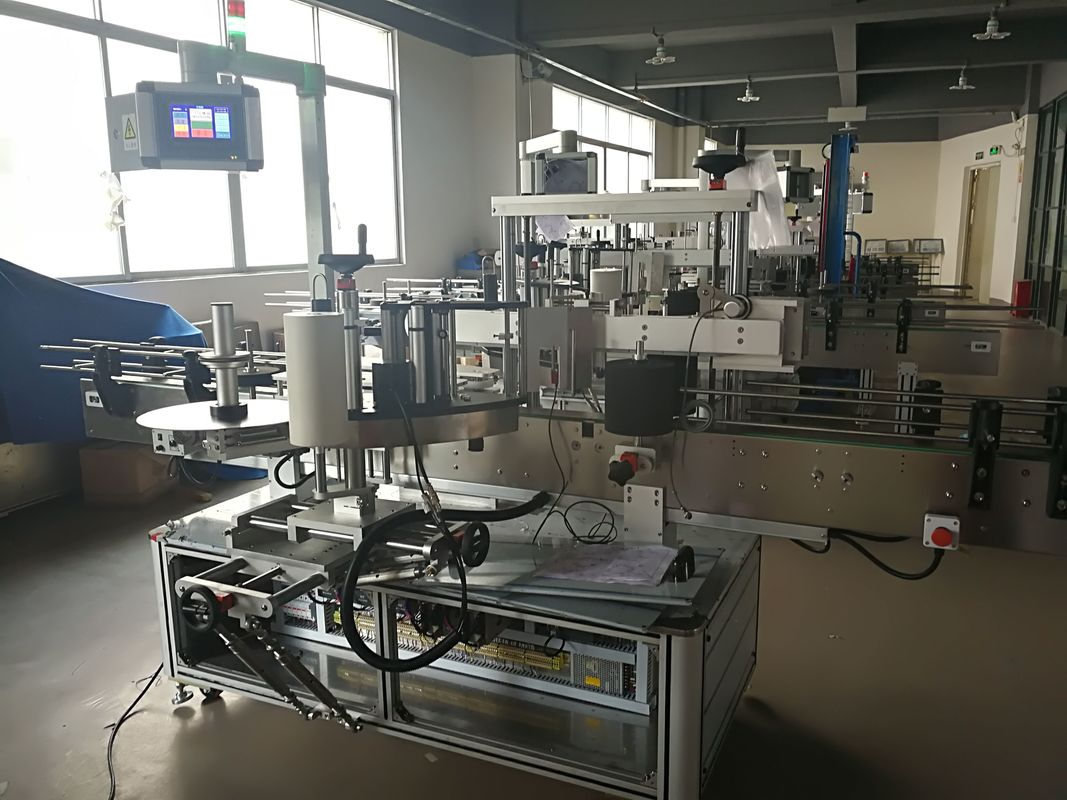 Машина за етикетиране на плоски бутилки, машина за автоматично нанасяне на етикети