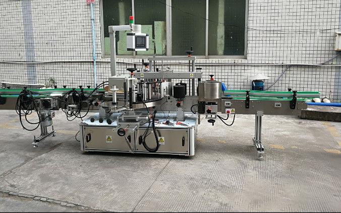 Двустранна автоматична машина за етикетиране със стикери със серво мотор