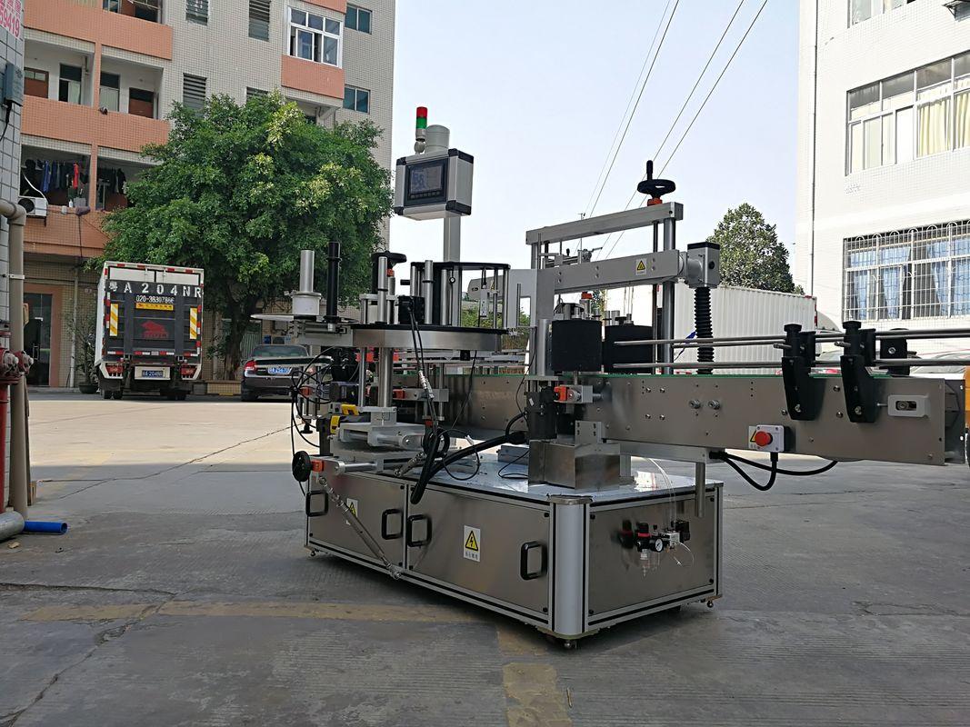 Високоскоростна автоматична машина за нанасяне на етикети с три странични квадратни бутилки