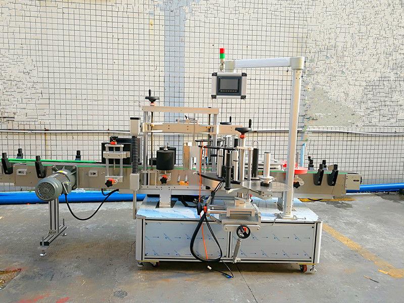 Проста автоматична машина за етикетиране отпред и отзад с двойна страна